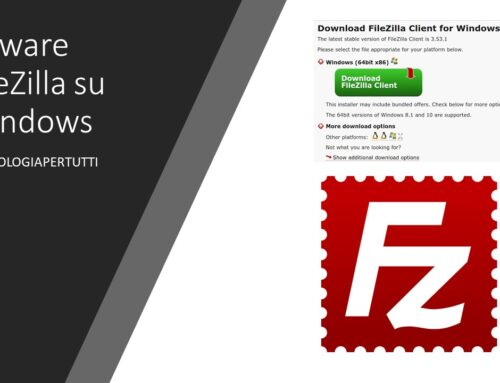 Adware FileZilla su Windows