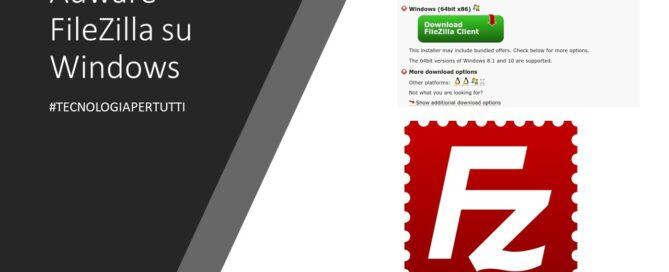 Adware FileZilla su Windows-1