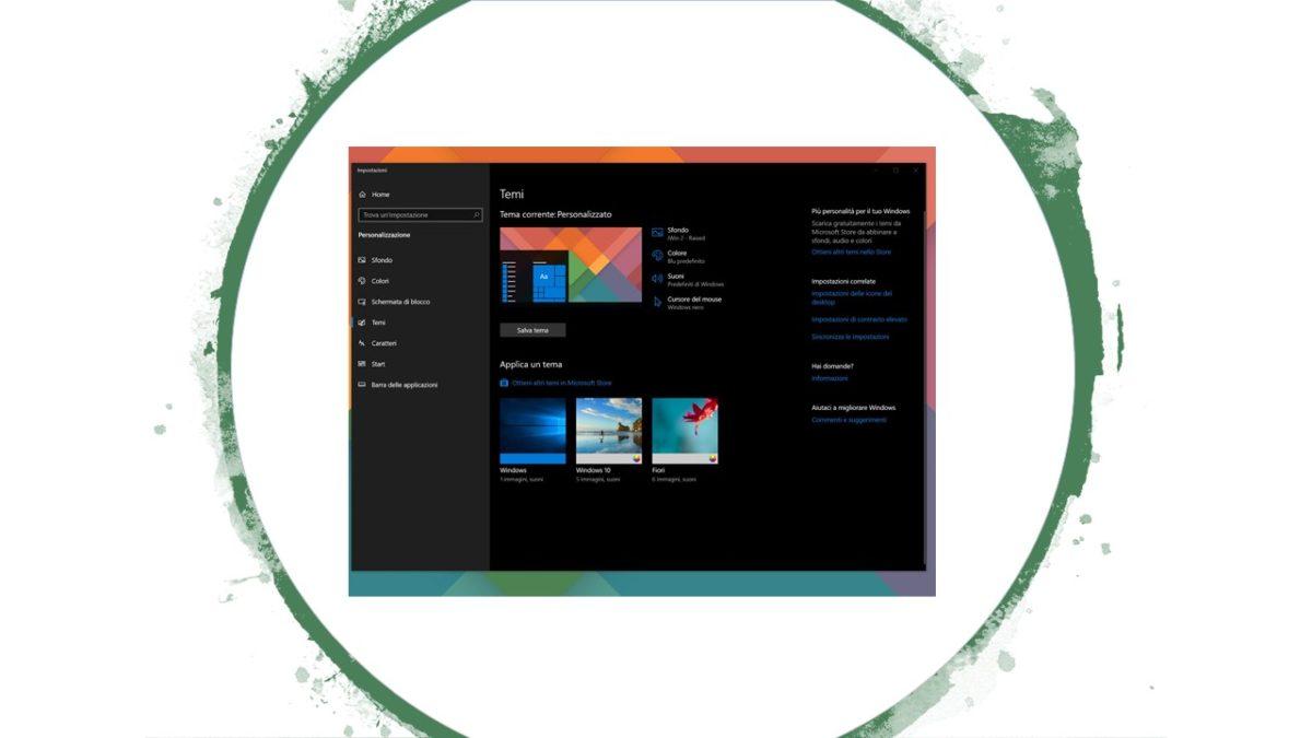 Cambiare le icone delle cartelle e del desktop in Windows 10_1