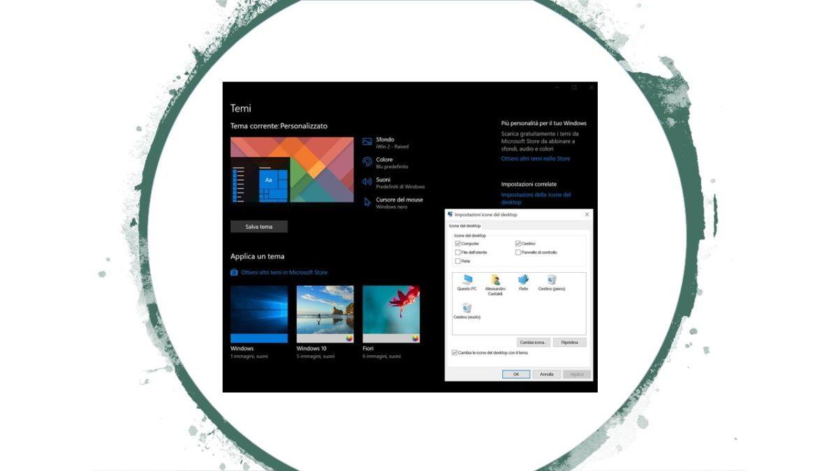 Cambiare le icone delle cartelle e del desktop in Windows 10_2