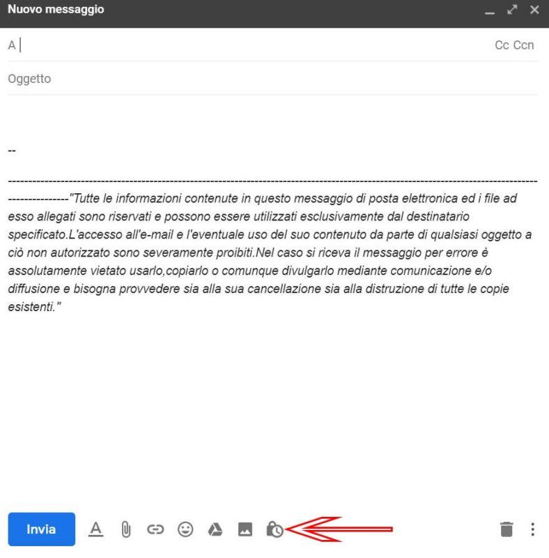 Come abilitare e utilizzare la modalità riservata in Gmail