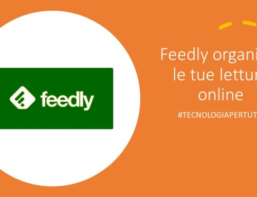 Feedly organizza le tue letture online