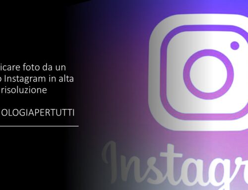 Scaricare foto da un profilo Instagram in alta risoluzione