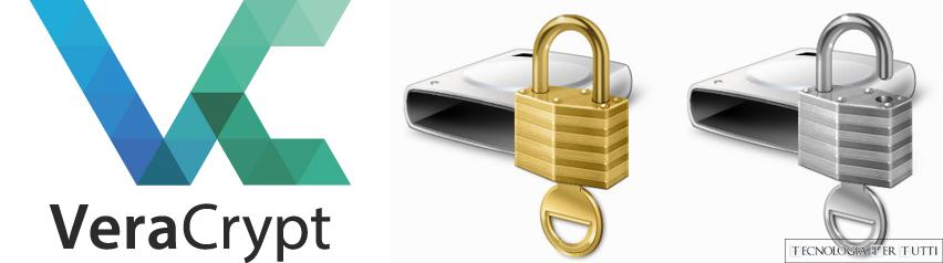 Proteggere i dati di una periferica USB con VeraCrypt e Bitlocker