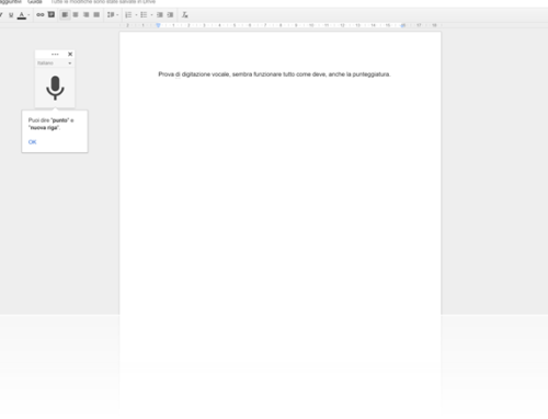 Come digitare e modificare un documento in Google Docs tramite Voice Typing