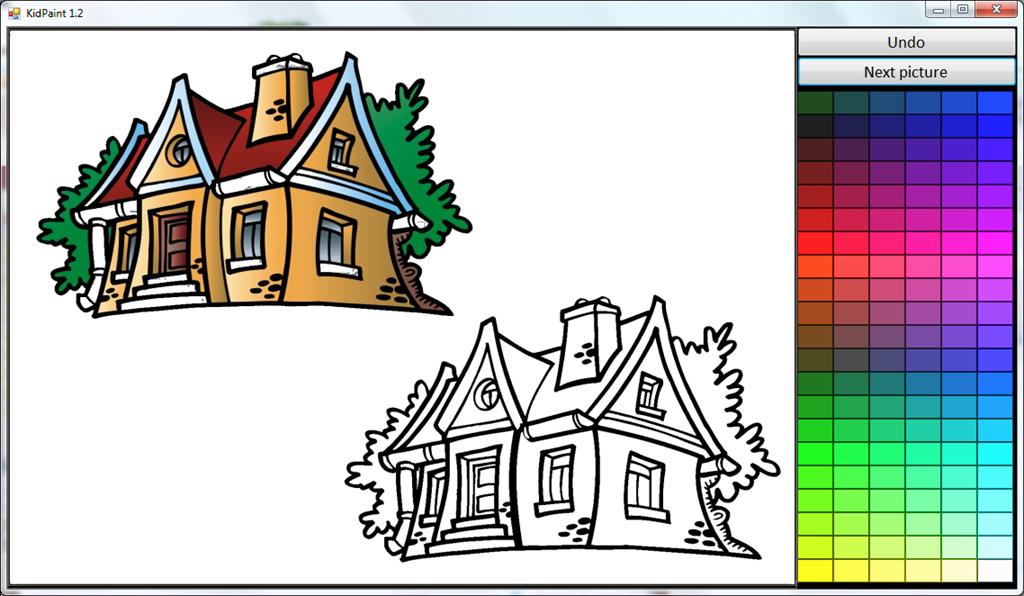 Kidpaint facciamo colorare i bambini tecnologia per tutti for Programma di disegno software