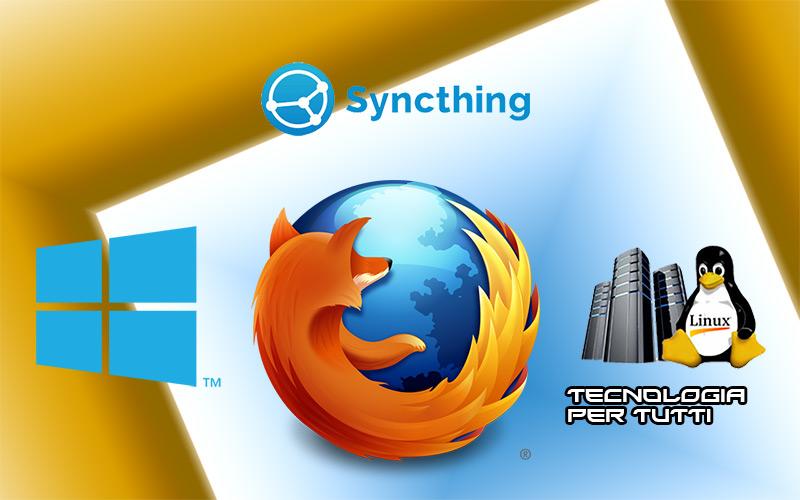 Syncthing sincronizzare i file in modo diretto, senza passare dal cloud